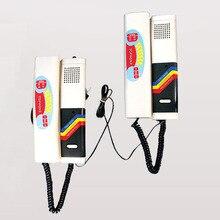 XinSiLu умеренная цена Новое поступление аудио дверной звонок Домофон, 2-полосная Домофон, очень просты в установке специальной линии двусторонней связи