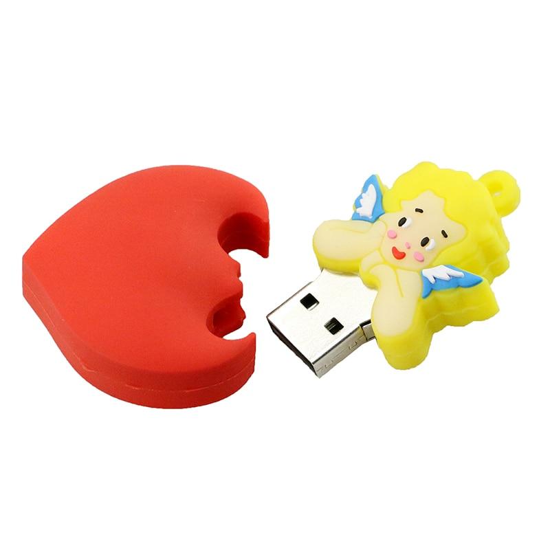 Best Gift 128 GB Pendrive 8 GB USB Flash Drive 16 GB Cartoon Cupido - Externe opslag - Foto 5