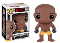New Funko pop Official UFC: Anderson Silva Boxer Fighter Action Figure Collectible Vinyl Figure Model Toy with Original box