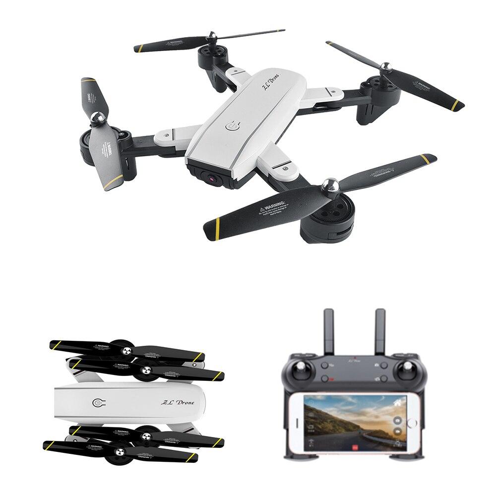 Dual Camera RC Foldable Drone with 2MP/NO Camera Remote Control WiFi FPV Quadcoter Altitude Hold Auto Return Function