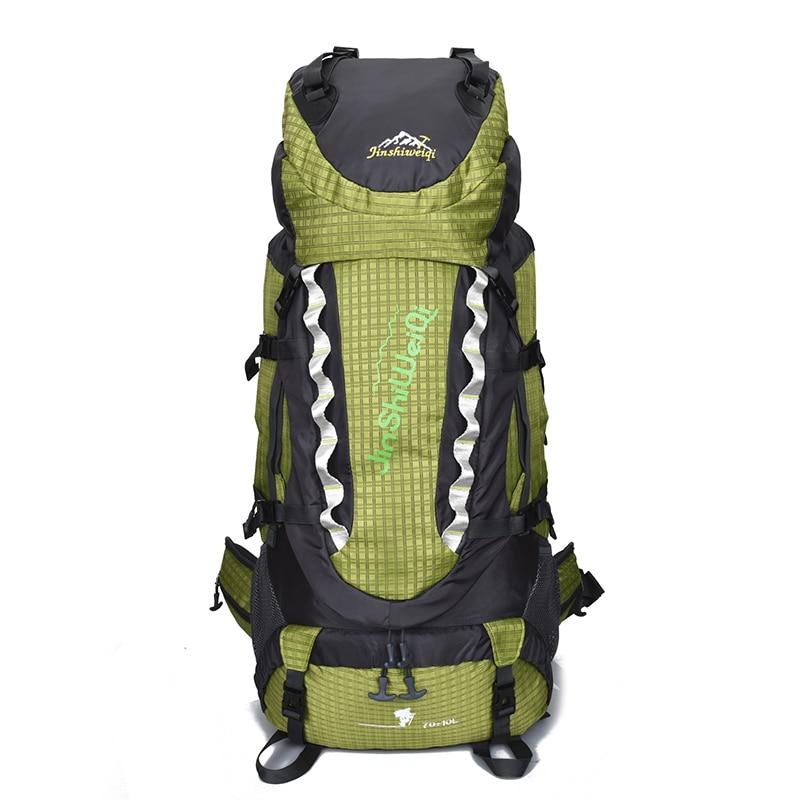 Outdoor bags Sport bags 80L large Climbing backpacks Men Women mountain external Frame rucksack camping hiking