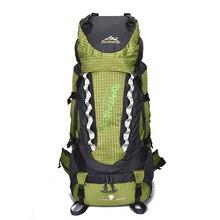 Outdoor bags Sport 80L large Climbing backpacks Men Women mountain external Frame rucksack camping hiking waterproof bag
