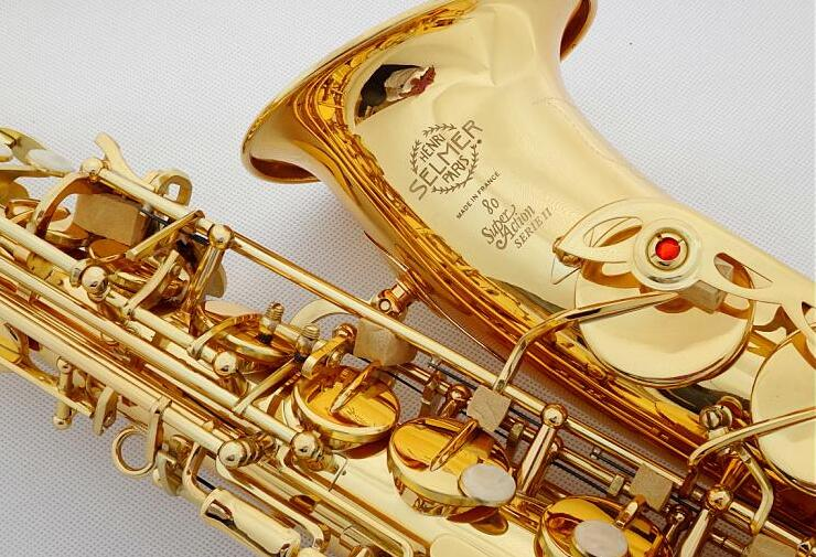 France Selmer 802 New Saxophone E Flat Alto High Quality Saxophone Top Professional Musical Instruments Free