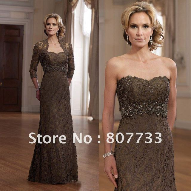 5feb60d7a5 Free Shipping!!!Cheap price beaded sweetheart mother of the bride lace  dresses