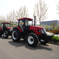 130HP Farm Tractor Large 4 Wheel Tractor 4*4 Drive Agricultural Equipment