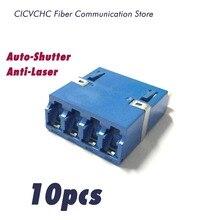 10pcs Fiber Adapter-with Quad