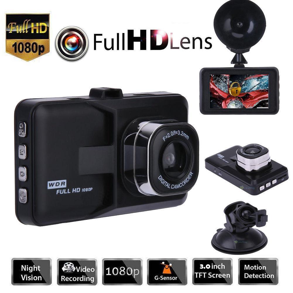 "3.0"" 1080P Car Dashboard DVR Camera Full HD Vehicle Video Recorder Dash Cam G-Sensor GPS Car Dashboard DVR car accessories"