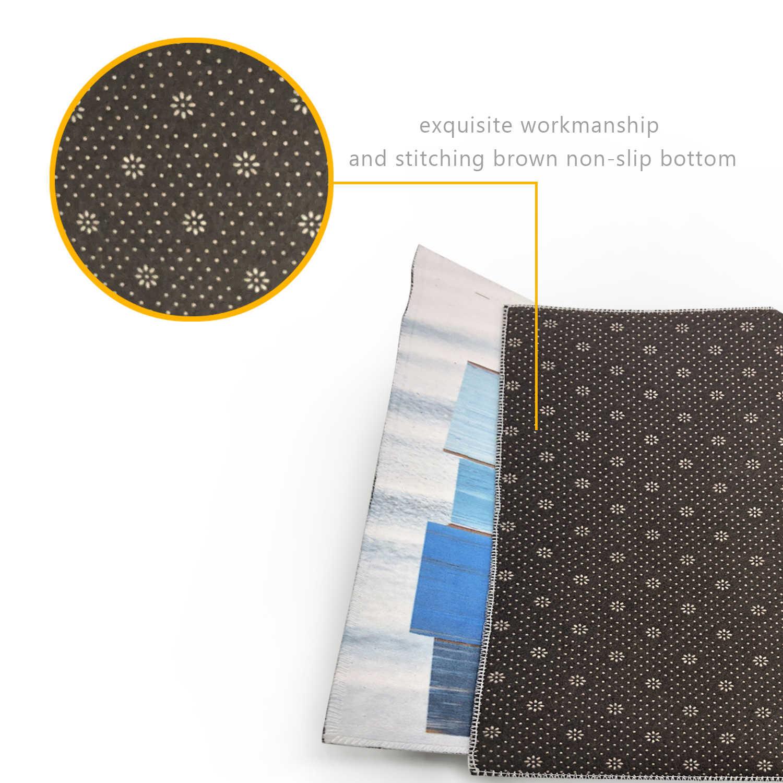 Acuarela textura con suculenta planta de Cactus impermeable poliéster tela Cortina de ducha Set con alfombra de baño