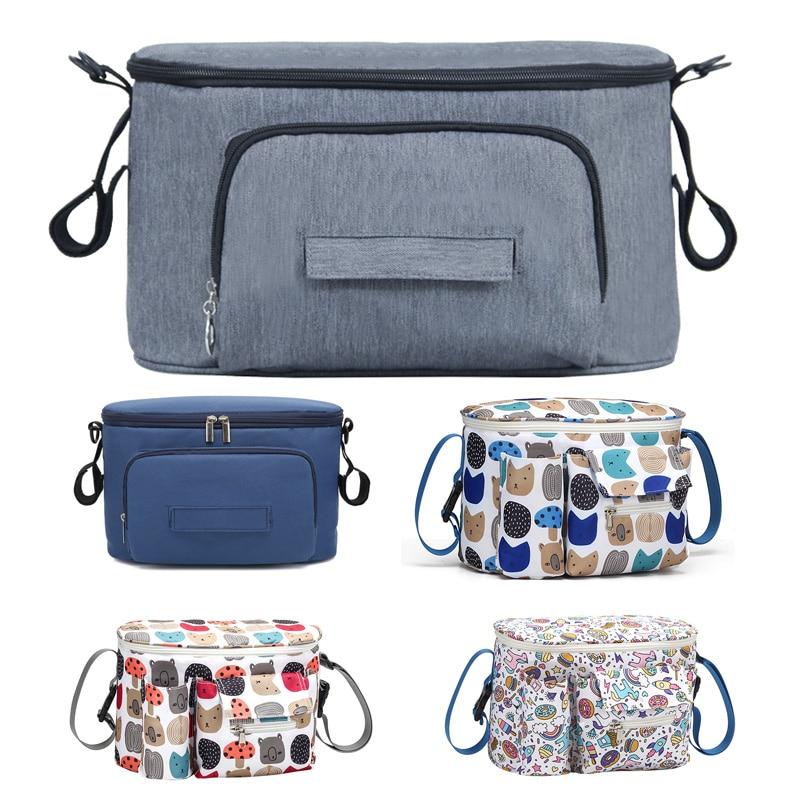 Baby Diapers Bag Large Capacity Stroller Bags Mommy Maternity Nursing Bags Waterproof Travel Diaper Pocket Stroller