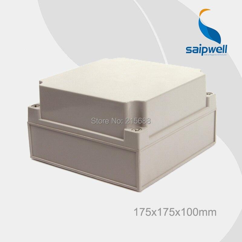 Saip waterproof terminal box plastic waterproof box ip66 175 175 100mm