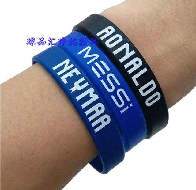 QiYuFang спортивные Футбол Soccer Star CR7 Месси, Неймар C. Роналдо браслет Accessiories Для мужчин подарок Для женщин любят браслеты для фанатов
