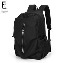 FENRUIEN 2019 Casual Backpack Men 15.6 Inch Laptop Bag Large Mochila Unisex Waterproof Antitheft Travel