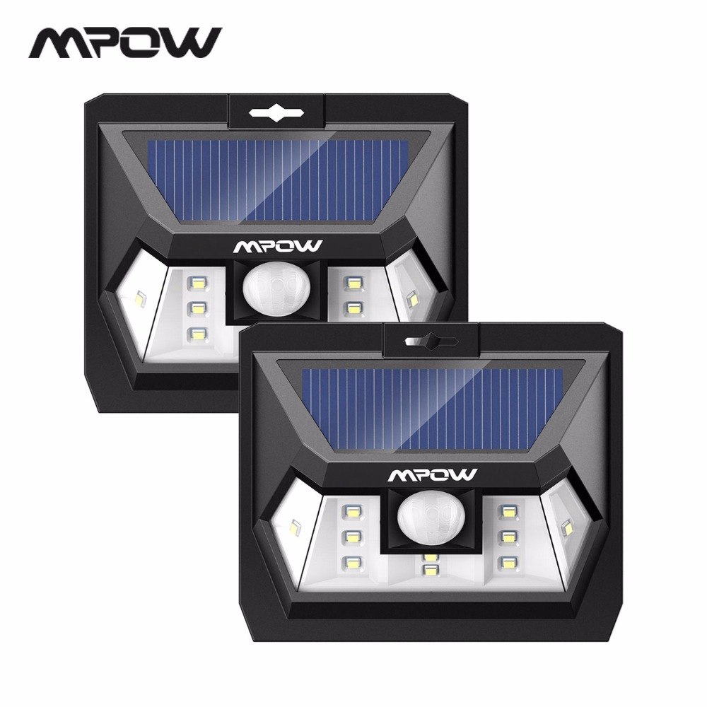 Mpow CD076 Mini 10 LED Solar Power Panel Lighting Motion Sensor Outside Wall Security Lights Fence Garden Pathway LED Night Lamp mpow 4pcs mini 10 led solar power lighting security waterproof outside wall panel lampion fence garden deck yard led night lamp