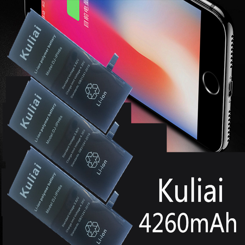 Image 2 - Brand New AAAAA Quality Phone Battery for iPhone 6S 6plus 7 7 plus  8 High Real CapacityZero Cycle Free Tool Sticker Kit-in Mobile Phone Batteries from Cellphones & Telecommunications