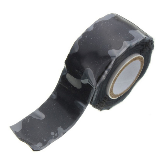 2.5cm*1.5m Super Strong Self Adhesive Fabric Tape Garden Water Pipeline Repair Tape Self-fluxing Silicone Survival Tape 4