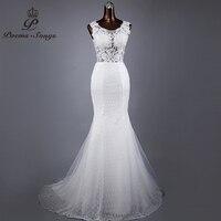 Poems Songs 2017 High Quality Lace Mermaid Wedding Dresses For Wedding Vestido De Noiva Bride Dress