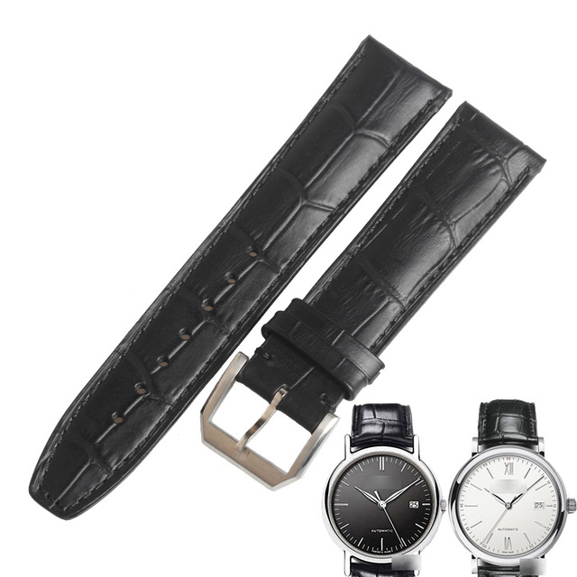 huge discount 6ffd7 9f7be Aliexpress.com : Buy WENTULA watch band for IWC Portugieser portofino  family Genuine Leather calf leather band IW356501 IW356305 IW391007 from ...