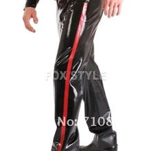 Новые модные натуральные резиновые латексные штаны латексные резиновые джинсы