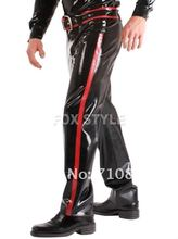 new fashion nature rubber latex pants latex rubber jeans