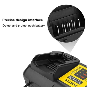 Image 3 - Dcb118 Dcb112 Replacement Battery Charger 4.5A Lithium Ion Fast Charger For Dewalt Dcb205 Dcb206 Dcb203Bt Dcb204Bt Dcb127 Dcb1