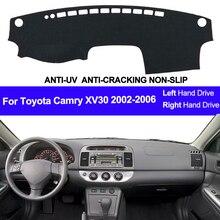 Für Toyota Camry XV30 2002 2003 2004 2005 2006 Auto Dashboard Abdeckung Dash Matte Pad Dash Board Abdeckung Teppich Auto sonne DashMat
