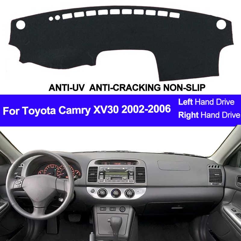 Untuk Toyota Camry XV30 2002 2003 2004 2005 2006 Mobil Dashboard Cover Dash Mat Pad Dash Board Cover Karpet Auto sun Dashmat