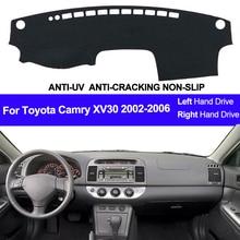 Voor Toyota Camry XV30 2002 2003 2004 2005 2006 Auto Dashboard Cover Dash Mat Pad Dash Board Cover Tapijt Auto zon Dashmat