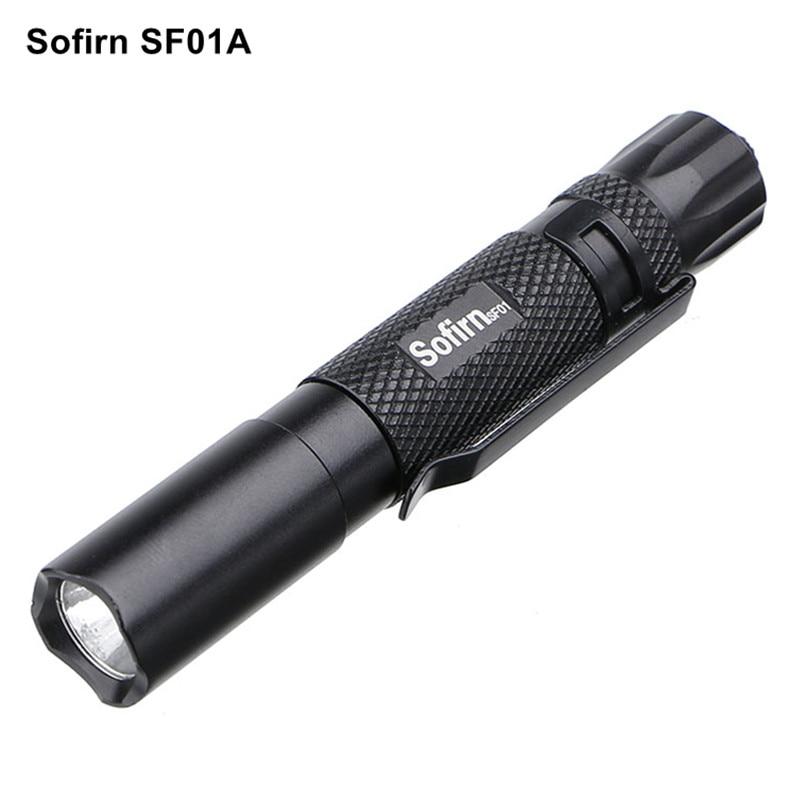 Sofirn SF01A Mini LED Flashlight AAA Torch Light Cree XP-G2 LED EDC Pocket Handy Keychain Flashlight 3 Modes Portable Lanterna sofirn sf14 cree xp g2 mini portable led flashlight