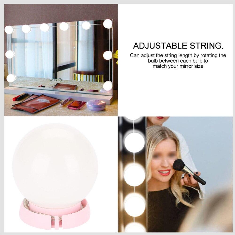 Make-up Spiegel Eitelkeit Led-lampen Kit Usb Lade Port Kosmetische Beleuchteten Make-up Spiegel Einstellbare Helligkeit Lichter Rheuma Lindern Schönheit & Gesundheit Haut Pflege Werkzeuge