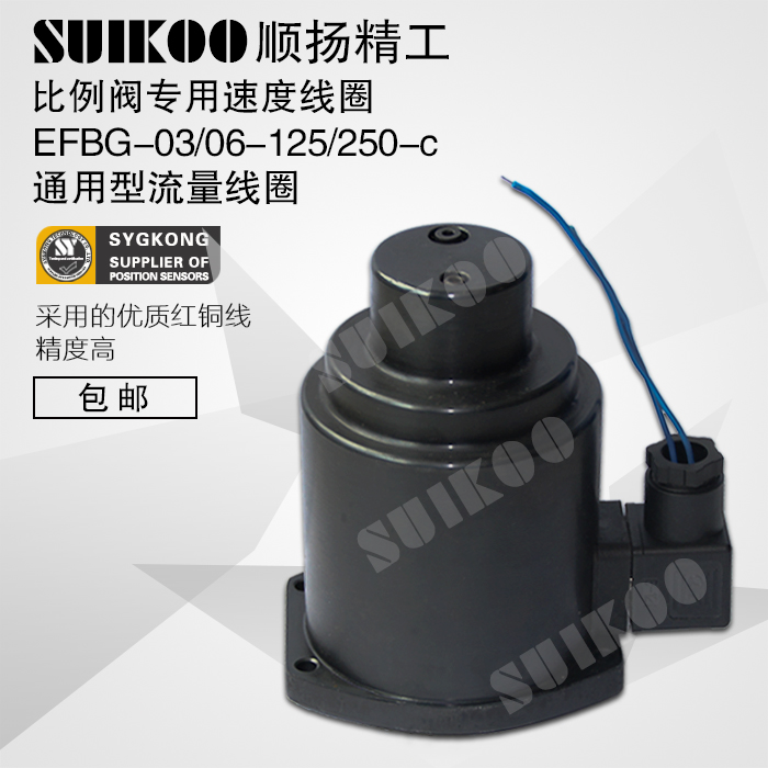 Universal Coil for Injection Molding Machine Universal Coil EFBG-03/06-125/250-c Proportional Valve cartoon wood