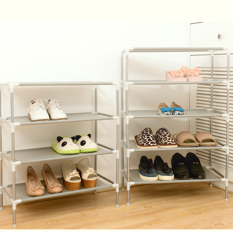 DIY Wohnzimmer Mbel Tragbare Schuhregal Klapp Multi Schicht Vlies Kombination Grosse Kapazitt Schuhe Regal Schrank