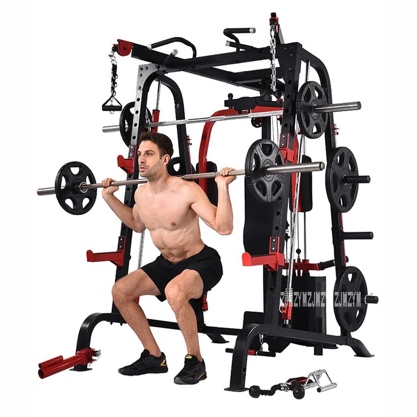9010DE большое Интегрированное Оборудование для фитнеса комплексное фитнес Упражнение многофункциональное оборудование для бодибилдинга вы