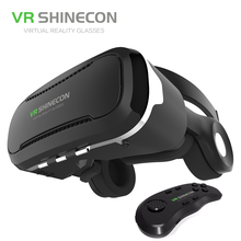 2016 VR Shinecon 4.0 gafas realidadเสมือนสำหรับ4.7-6.0นิ้วมาร์ทโฟน360องศาที่สมจริงความจริงเสมือนแว่นตา3D VRกล่อง
