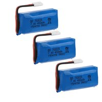 3pcs X RC Part Upgraded 7 4V 400mAh 30C Lipo Battery For DM007 RC Quadcopter