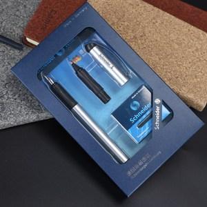Image 5 - Schneider BK600 Fountain Pen Gift Box Set 0.5mm Iraurita Gel Dual Tip Vulpen Calligraphy Pen Dolma Kalem Kalem Office Supplies
