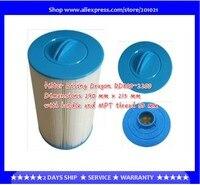 Spa hot tub dimensione filtro 290mm x 215mm maniglia e MPT filetto 65mm/filetto Femmina