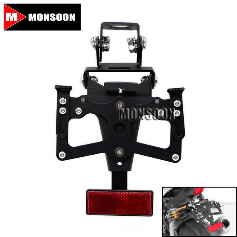 For YAMAHA YZF-R6 YZFR6 YZF R6 2008-2015 Motorcycle Accessories Tail Tidy Fender Eliminator Registration License Plate Holder universal for yamaha r1 r3 r6 fz1 fz6 t max500 530 xj6 motorcycle tail tidy fender eliminator registration license plate holder
