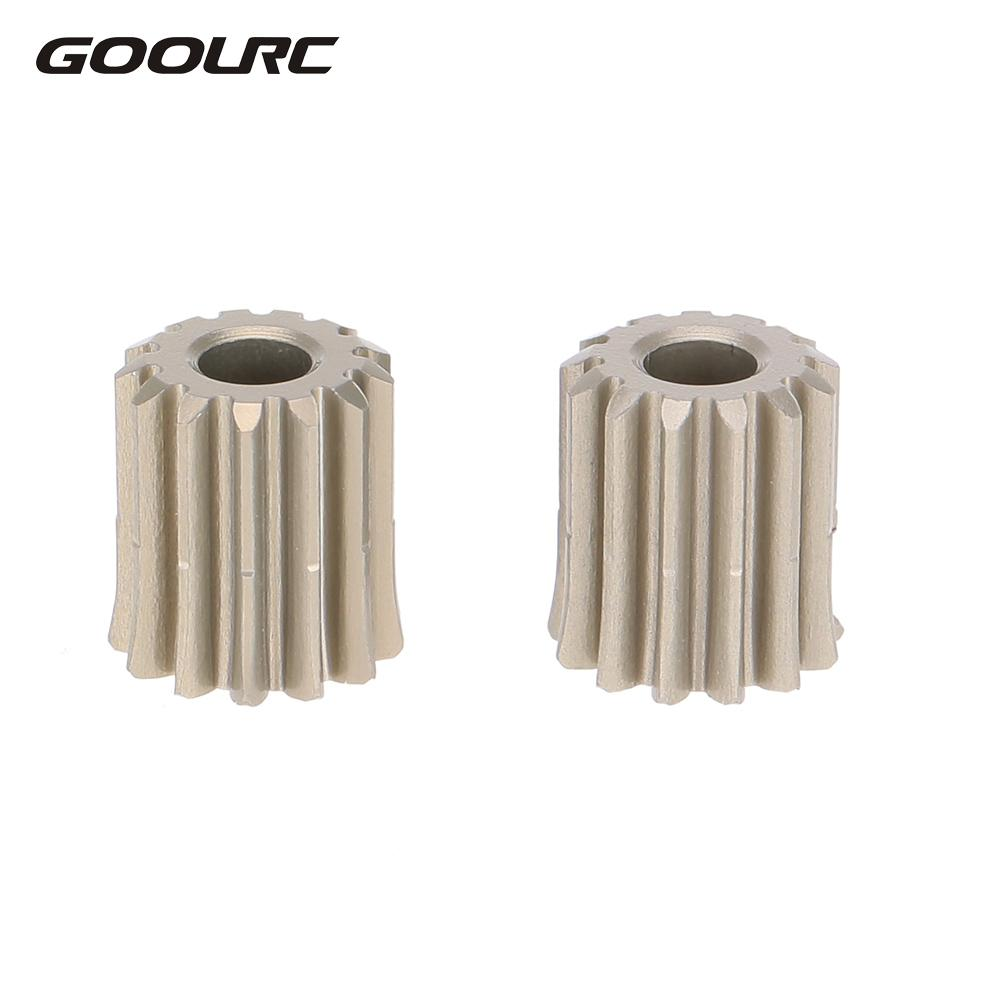 GoolRC 2Pcs 48DP 3.175mm 13T Motor Pinion Gear for RC Car Brushed Brushless Motor Gears RC Car Spare DIY Assembly Parts universal metal walkera motor pinion gear puller remover w010 for rc helicopter new
