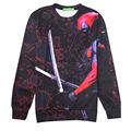 2016 Deadpool hoodies 3D funny badass comics Deadpool sweatshirt  men women harajuku punk hoodies plus size streetwear XXL
