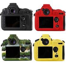 D810 SLR мешок Силикона Легкая сумка для Фотокамеры Чехол для Nikon D810 Черный Красный Желтый Зеленый