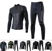 Best quality wetsuit in two piece for diving , surfing , swimming men in 2.5 mm