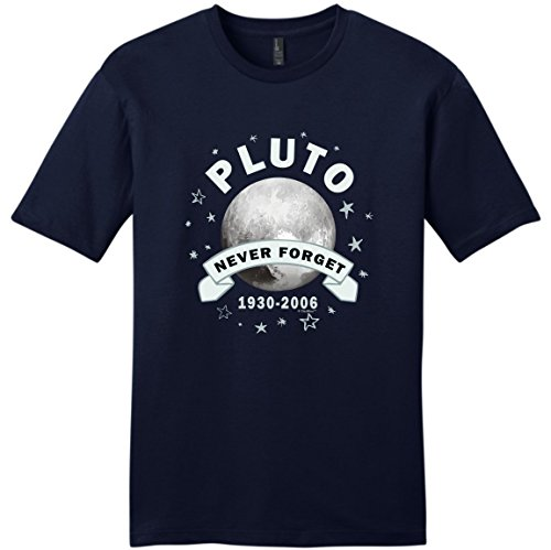 93e923a50 OKOUFEN Vintage Tee Shirts New Style O-Neck Science Gifts Planet Pluto  Never Forget Funny Pluto Short-Sleeve Mens Tee Shirt