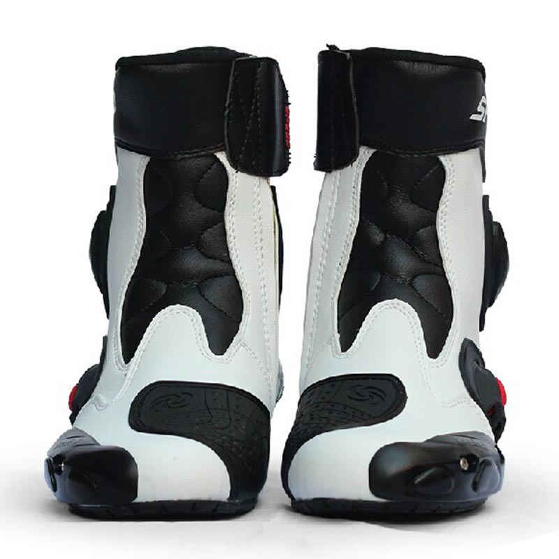 Riding Tribe Waterproof Motorcycle Boots Microfiber Leather Men Professional Motocross Racing Boot Motorbike boots