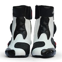 Riding Tribe Motorcycle Boots climbing Hiking Microfiber Leather Professional Motocross Racing Boot Motorbike Protective boots