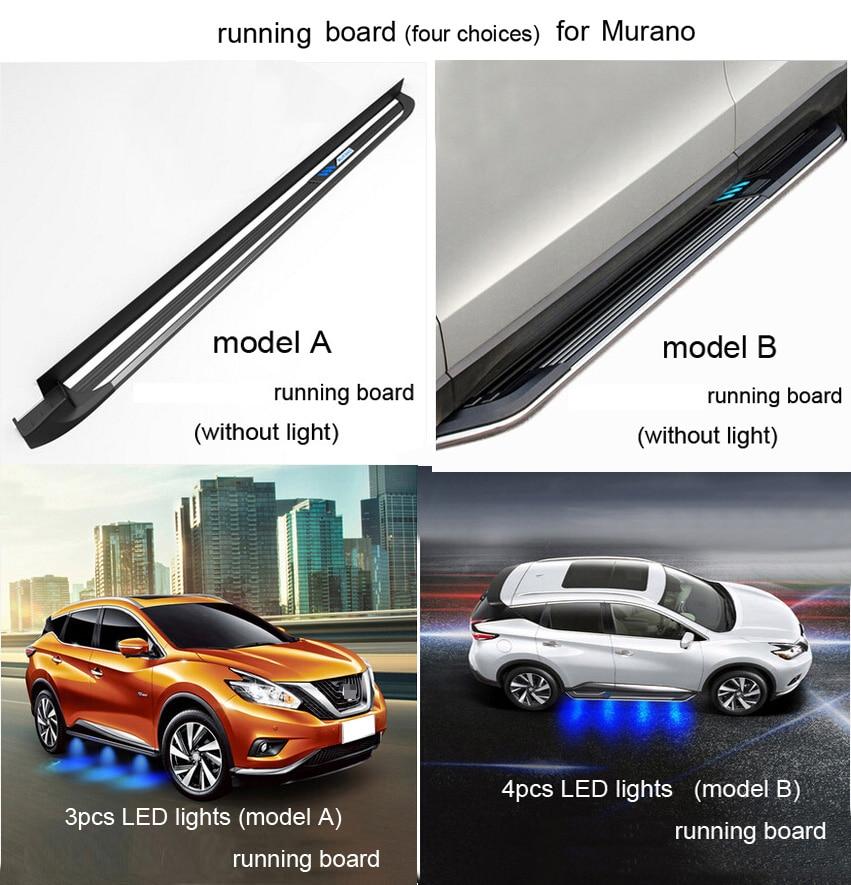 neueste populäre Trittbrettseitenschritt-Seitenstange für Nissan - Autoteile - Foto 6