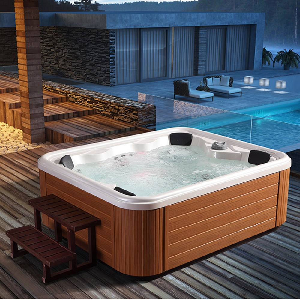 Outdoor Whirlpool Cheap Us 5712 Hot Sale 6 People Spa Tubs Made In China Deluxe Outdoor Whirlpool Solariums Courtyard Garden Independent Hot Tub In Spa Tubs From Home