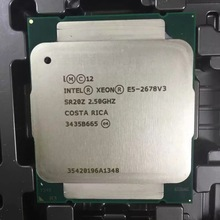 Intel E5 2678 V3 2.5 Ghz 30 Mb 12Core 120W 22nm Socket Lga 2011-3 SR20Z Processor cpu
