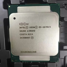 Intel procesador Intel E5 2678 V3, 2,5 GHz, 30MB, 12 núcleos, 120W, 22nm, Socket LGA 2011 3, SR20Z