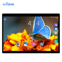 CIGE Original MediaPad 10.1 inch Tablet PC Android 7.0 Octa Core 4GB RAM 64GB ROM Dual Camera SIM card WIFI GPS BTHTablet 10