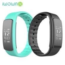 IWOWNFit i6 HR Умный Браслет Браслет Heart Rate Monitor Фитнес Tracker Активность Smartband IP67 Водонепроницаемый для Android IOS Телефон
